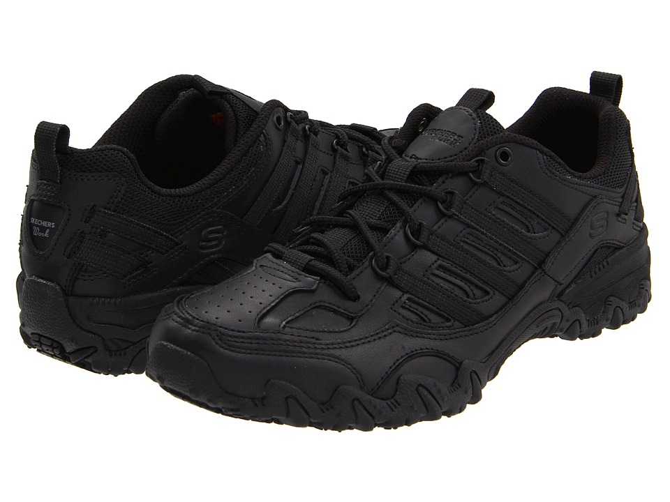 SKECHERS Work - Chant (Black) Women's Shoes