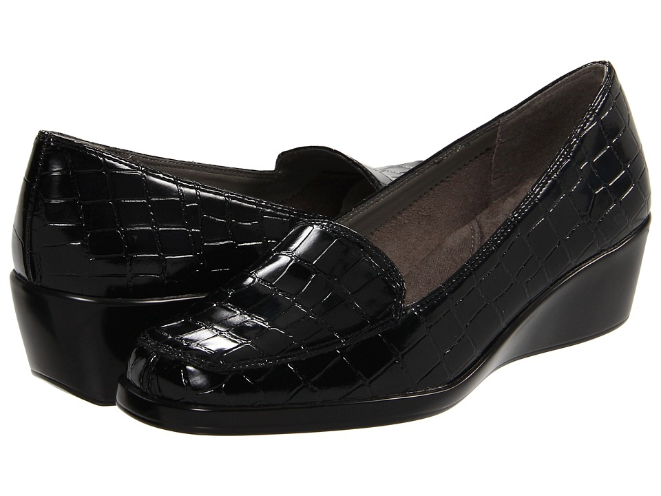 A2 by Aerosoles - Final Exam (Black Croco) Women's Shoes