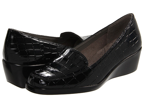 Aerosoles - Final Exam (Black Croco) Women's Shoes