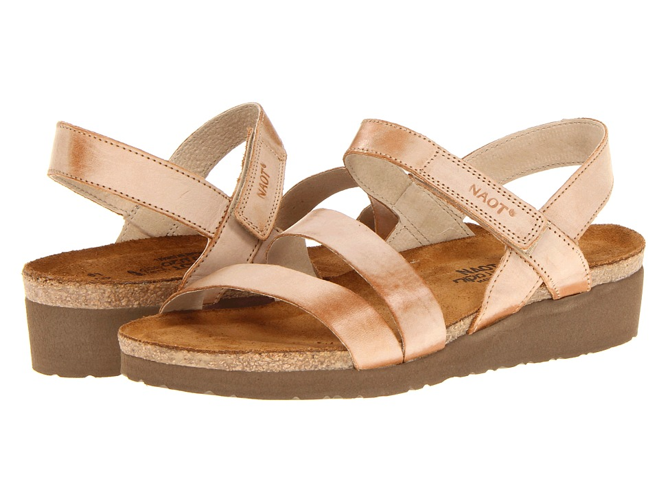 Naot Footwear - Kayla (Biscuit Leather) Women's Sandals