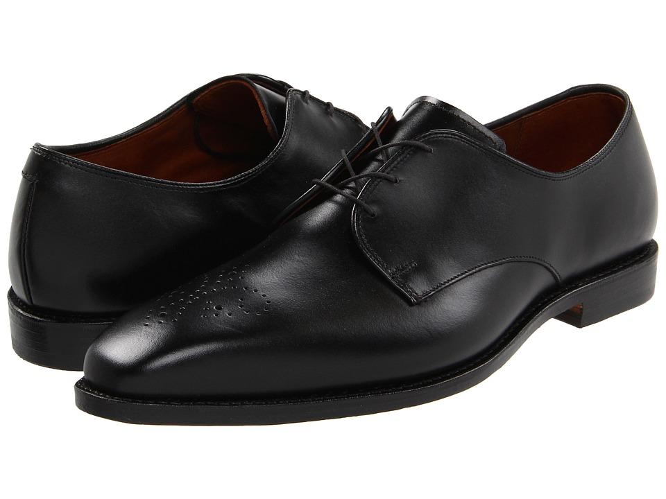 Allen-Edmonds - Flatiron (Black Custom Calf) Men's Lace Up Wing Tip Shoes