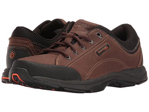 Rockport - Chranson (Dark Brown/Black) Men's Lace up casual Shoes