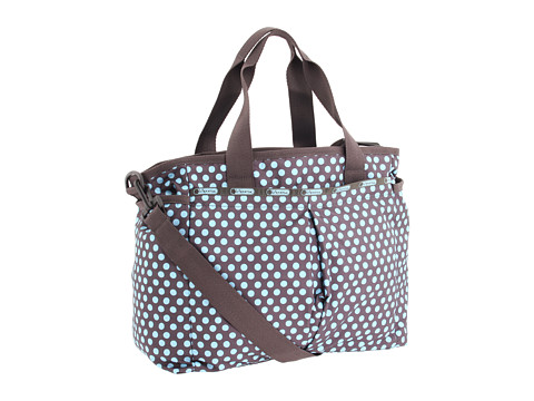 LeSportsac - Ryan Baby Bag (Aqua Dot) Diaper Bags