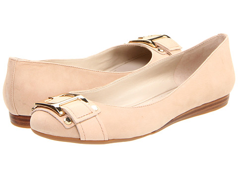 Nine West - Crisp (Natural/Light Natural Leather) Women's Slip on Shoes