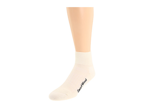 Smartwool - Walk Light Mini 3-Pack (Natural) Quarter Length Socks Shoes