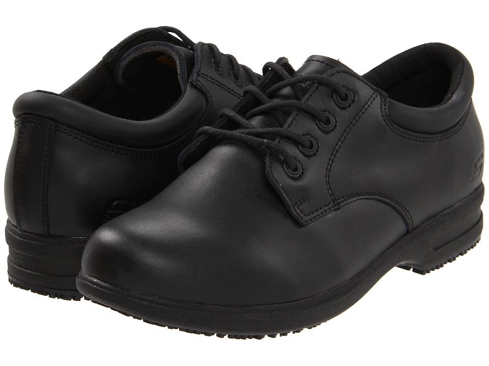 SKECHERS Work - Caviar II (Black) Women's Shoes
