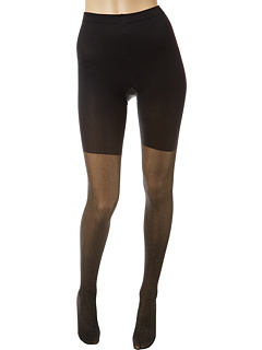 SALE! $9.99 - Save $18 on Spanx Patterned Tight End Tights Metallic Luxe (Black Gold) Hosiery - 64.32% OFF $28.00