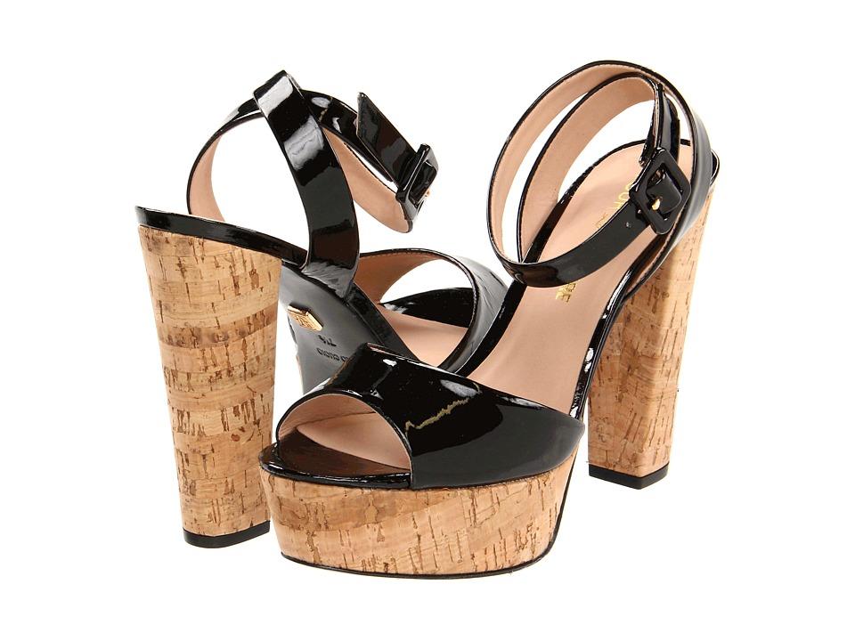 Pour La Victoire Nasha (Black Patent) High Heels