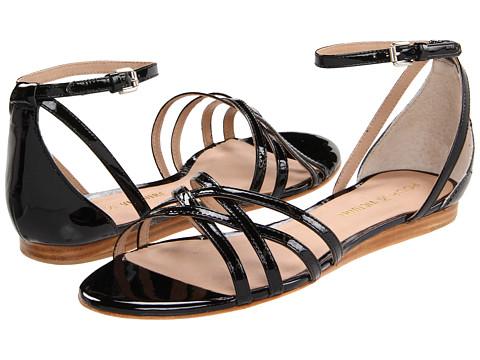 Pour La Victoire - Faine (Black Patent) Women's Sandals