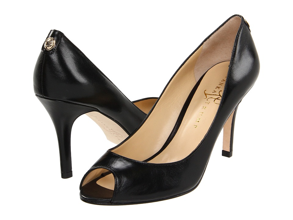 Ivanka Trump - Cleo (Black Leather) High Heels