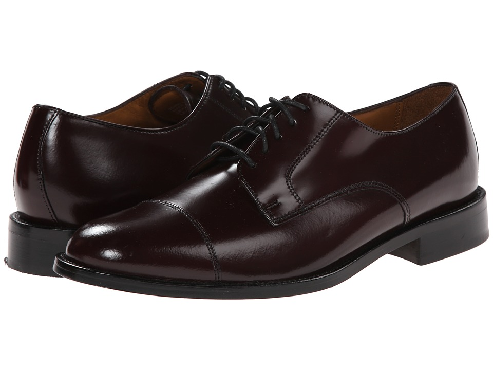 Bostonian - Andover (Burgundy Leather) Men's Lace Up Cap Toe Shoes