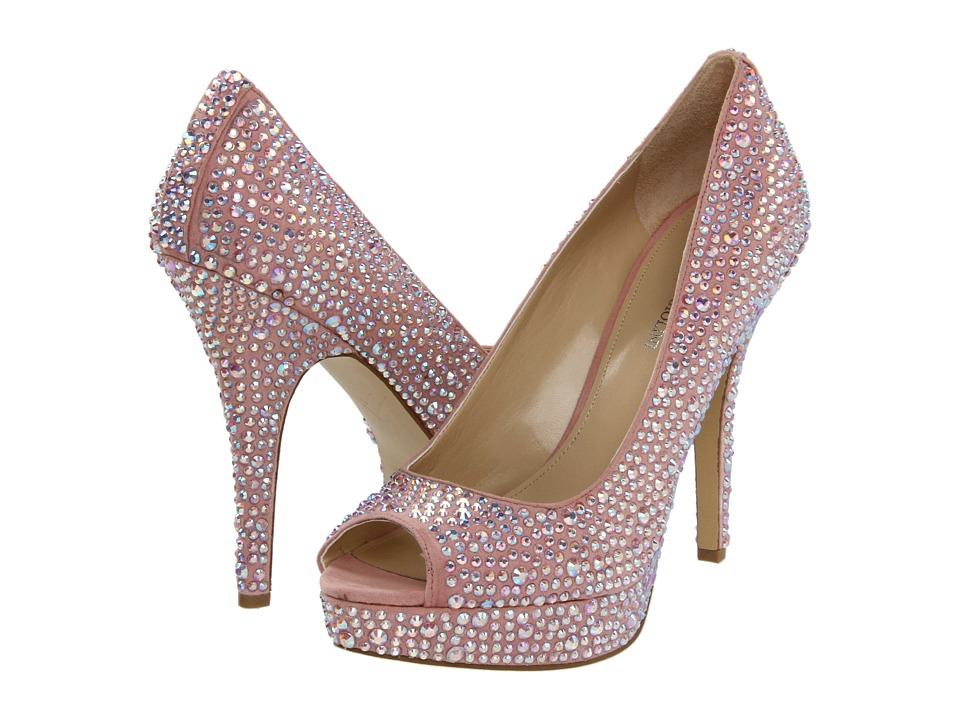 Enzo Angiolini Show You (Medium Pink Fabric) High Heels