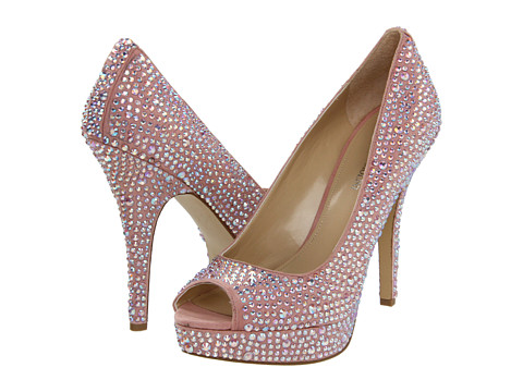 Enzo Angiolini - Show You (Medium Pink Fabric) High Heels