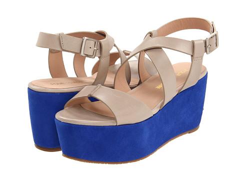 Pour La Victoire - Noele (Taupe Vegetal) Women's Wedge Shoes