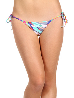 SALE! $24.99 - Save $74 on Tibi Prisms String Bottom (Aqua Multi) Apparel - 74.76% OFF $99.00