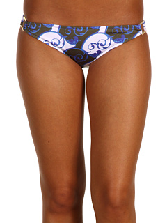 SALE! $29.99 - Save $69 on Tibi Scrolls American Bottom With Ring (Royal Blue Multi) Apparel - 69.71% OFF $99.00