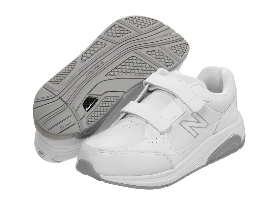 New Balance - WW928 Hook-and-Loop (White/Hook & Loop) Women