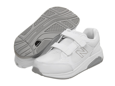 New Balance - WW928 Hook-and-Loop (White/Hook & Loop) Women's Walking Shoes