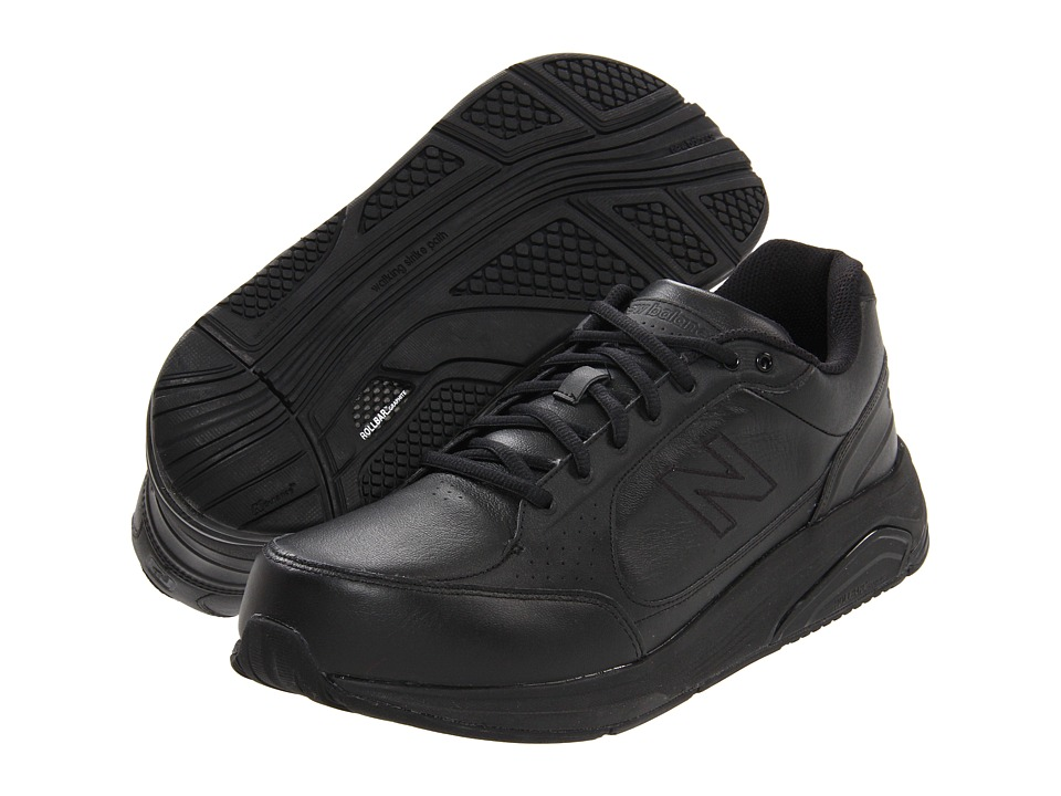 New Balance - MW928 (Black) Men's Walking Shoes