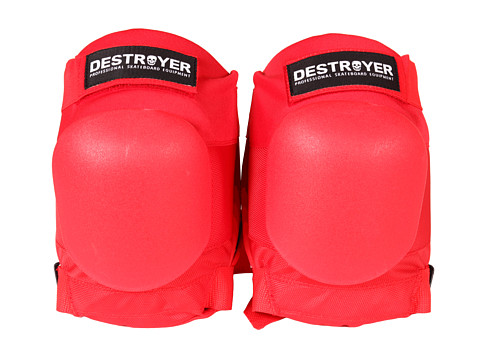 Destroyer - AM Knee (Red) Skateboards Sports Equipment