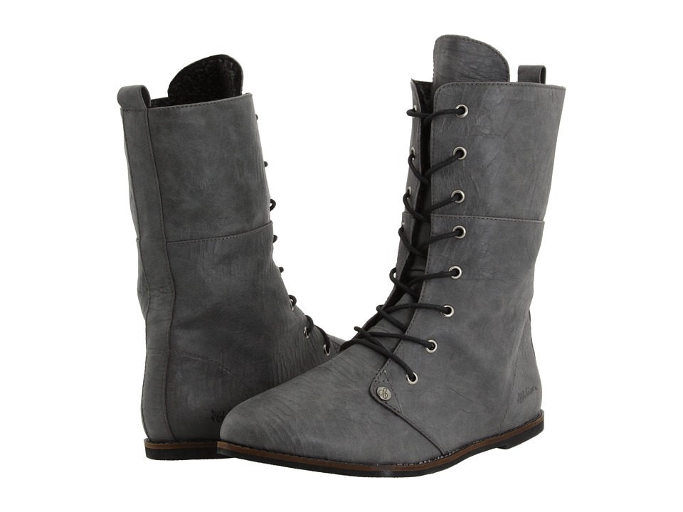 Cobian - Trystyn (Charcoal) Women's Lace-up Boots