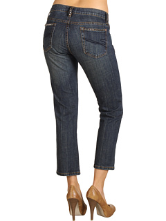 SALE! $24.99 - Save $45 on Stetson Slim Leg Cropped Indigo Denim Jean (Blue) Apparel - 64.30% OFF $70.00