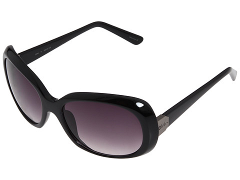 Cole Haan - C698 (Black) Plastic Frame Fashion Sunglasses