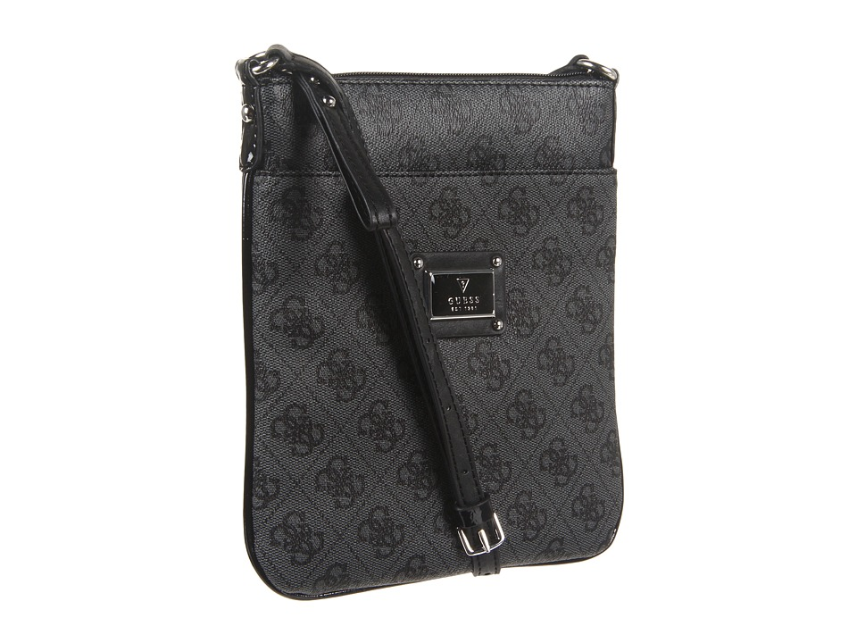 GUESS - Scandal Mini Crossbody (Coal) Cross Body Handbags