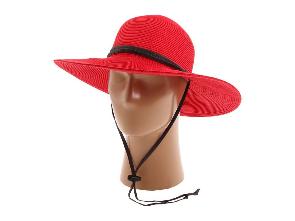 San Diego Hat Company - PBG1 Garden Sun Hat (Red) Knit Hats