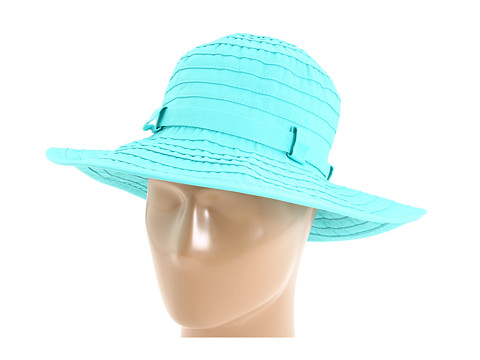 San Diego Hat Company - RBM4760 Buckle Accent Floppy Sun Hat (Seafoam) Knit Hats