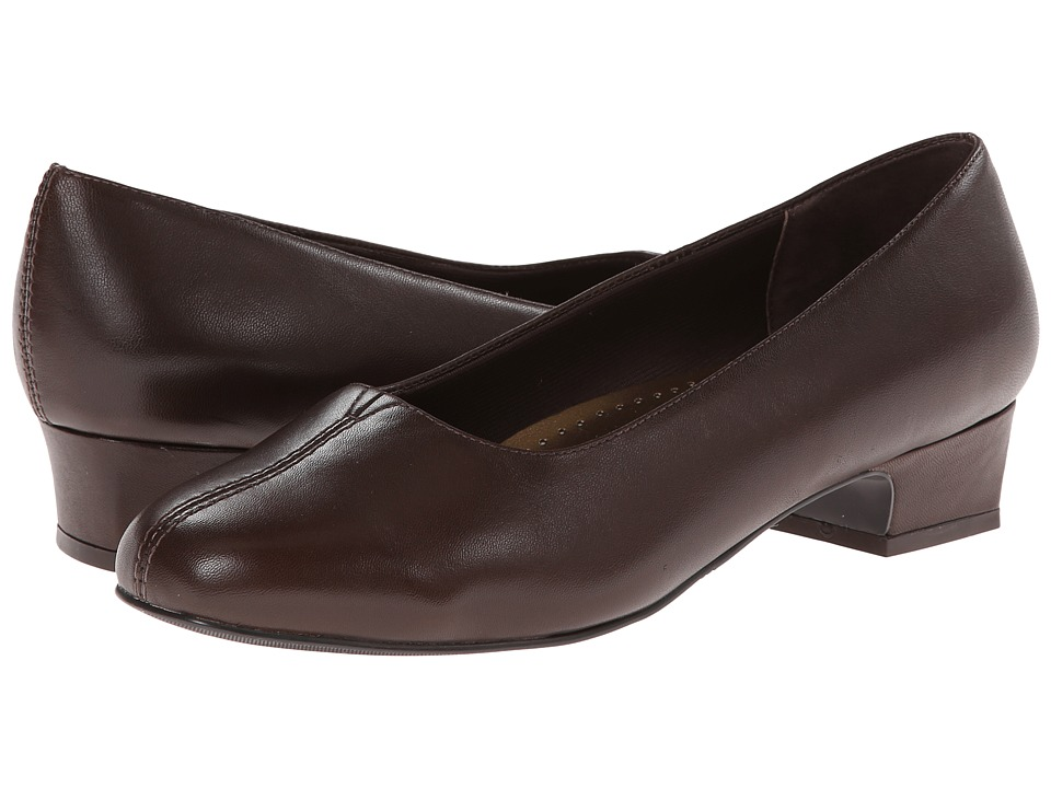 Trotters - Doris (Mocha Soft Kid) Women's 1-2 inch heel Shoes