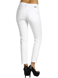 SALE! $29.99 - Save $49 on Worn Jeans Carly Slim Crop in White (White) Apparel - 62.04% OFF $79.00