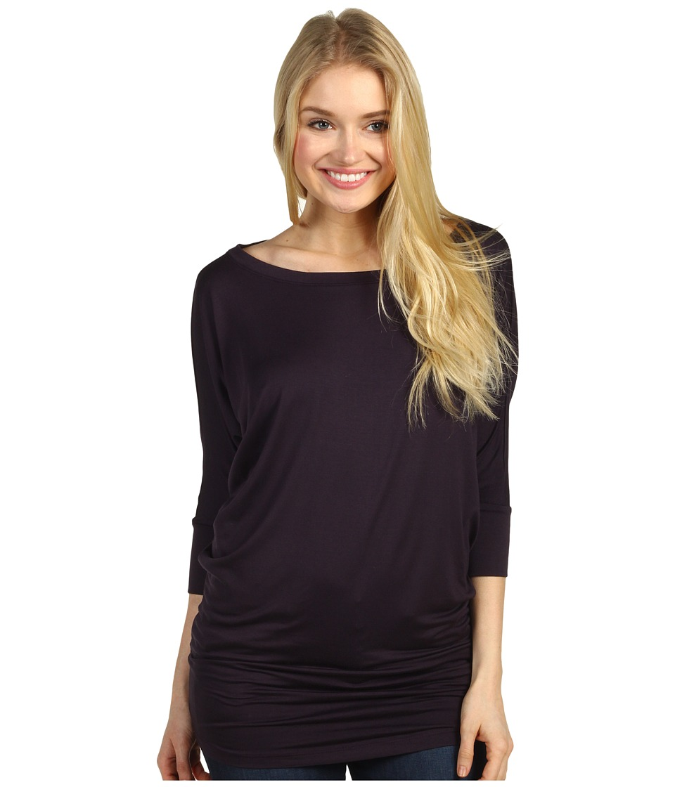 Culture Phit - Lara Modal Top (Plum) Women's T Shirt
