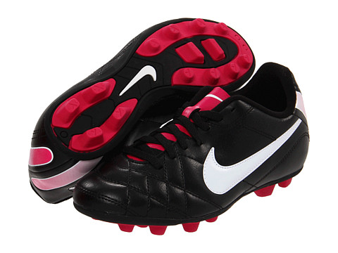 sports shoes 22a04 97ad3 UPC 886550837835 product image for Nike Kids Jr Tiempo Rio FG-R (Toddler  UPC 886550837835 product image for Nike Youth Girls Size 5.5 Black  Pink  Soccer ...
