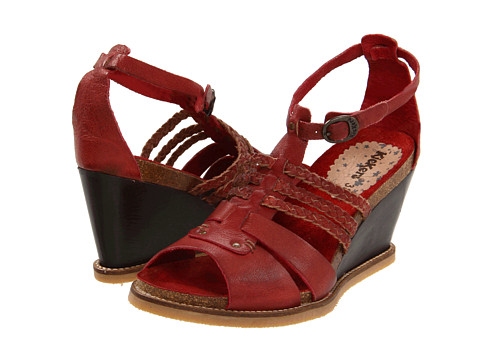Kickers - U-Find (Dark Red) Women's Sandals