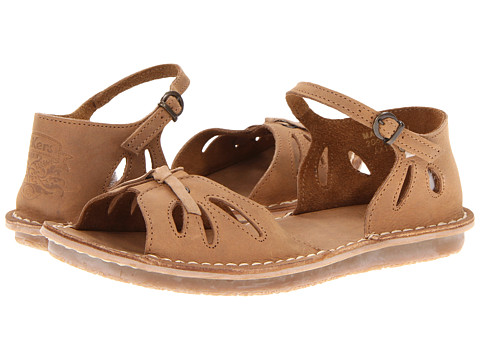 Kickers - Week (Light Brown) Women's Toe Open Shoes