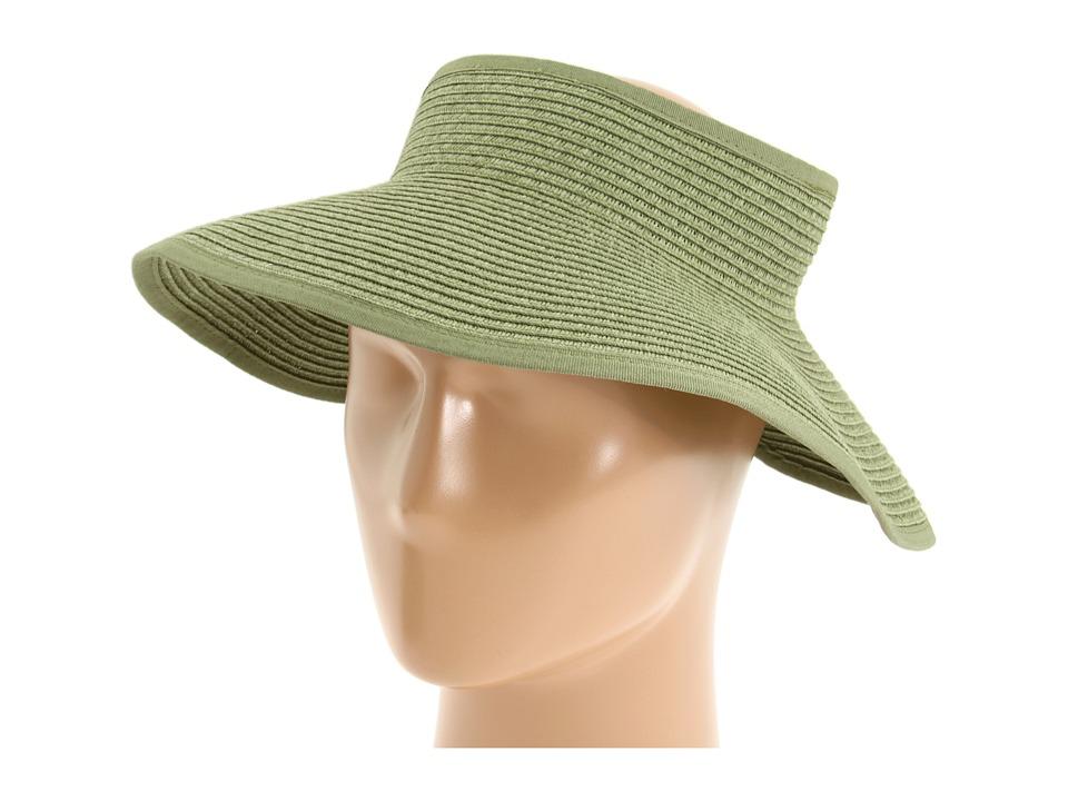 San Diego Hat Company - UBV002 Sun Hat Visor (Olive Stripe) Casual Visor