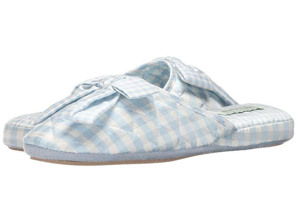 Patricia Green - Sally Silk (Blue) Women's Slippers