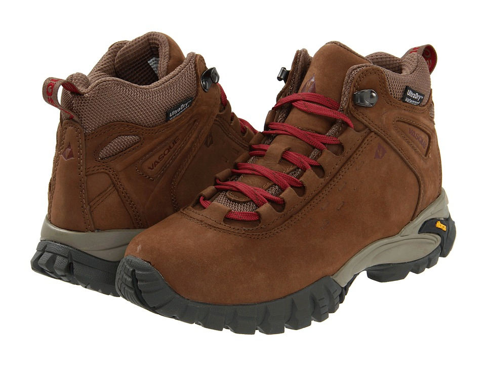 Vasque Talus Ultradry (Dark Earth/Rumba Red) Women