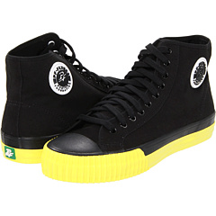 SALE! $15.99 - Save $34 on PF Flyers Center Hi (Black Yellow Pop) Footwear - 68.02% OFF $50.00