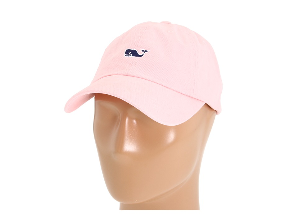 Vineyard Vines - Whale Logo Baseball Hat (Flamingo) Caps