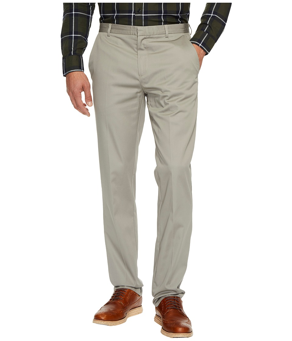 Calvin Klein - Slim Fit Refined Twill Pant (Elephant Skin) Men's Clothing