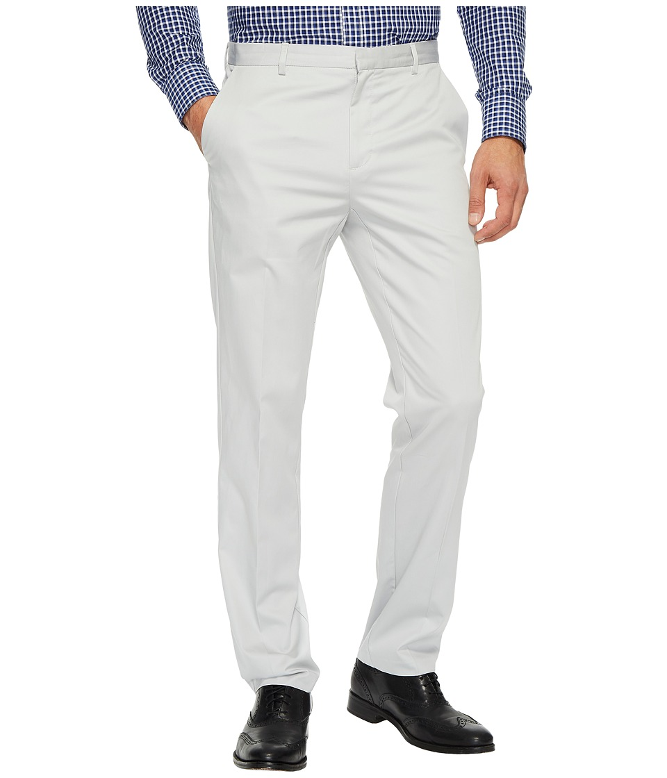 Calvin Klein - Slim Fit Refined Twill Pant (Grey Violet) Men's Clothing