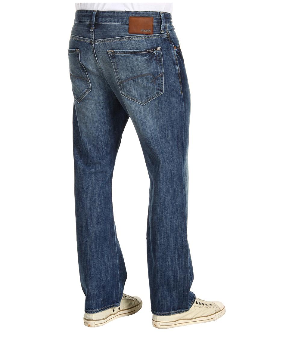 Mavi Jeans - Matt Mid-Rise Relaxed in Indigo Premium (Indigo Premium) Men's Jeans