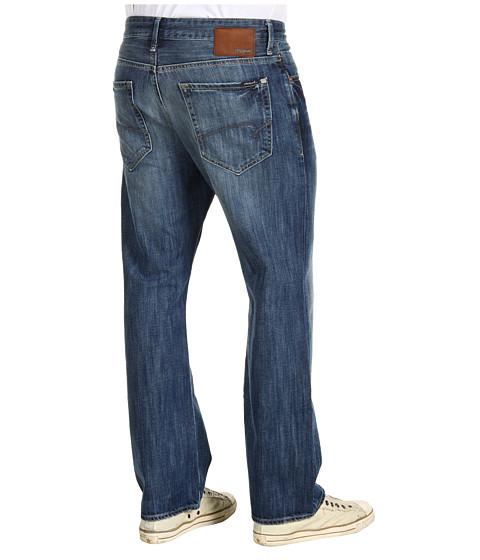 Mavi Jeans - Matt Mid-Rise Relaxed in Indigo Premium (Indigo Premium) Men