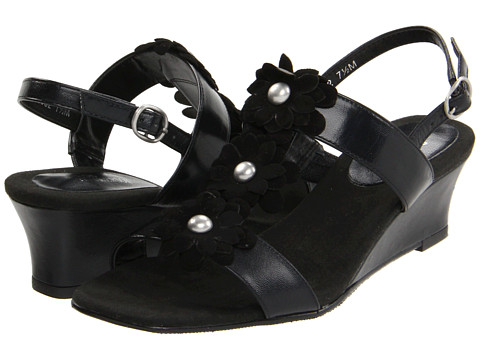 Ros Hommerson - Danger (Black Kid/Suede) Women's Wedge Shoes