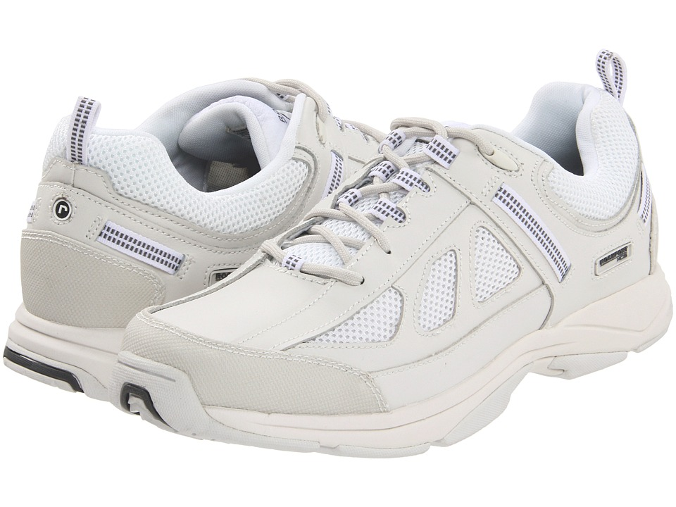 Rockport - Rock Cove (White Leather/Mesh) Men