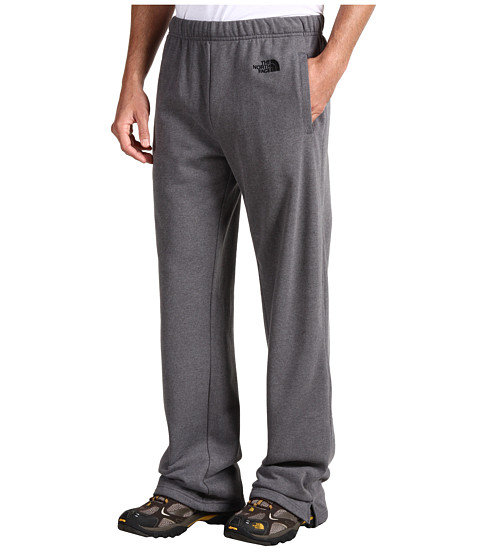 The North Face - Logo Pant (Charcoal Grey Heather) Men's Clothing