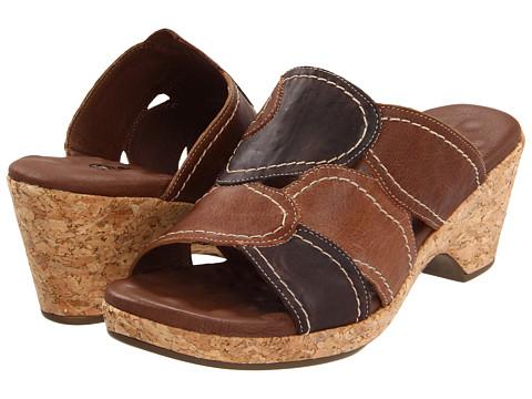 Walking Cradles - Daisy (Brown Multi Leather) Women's Slide Shoes