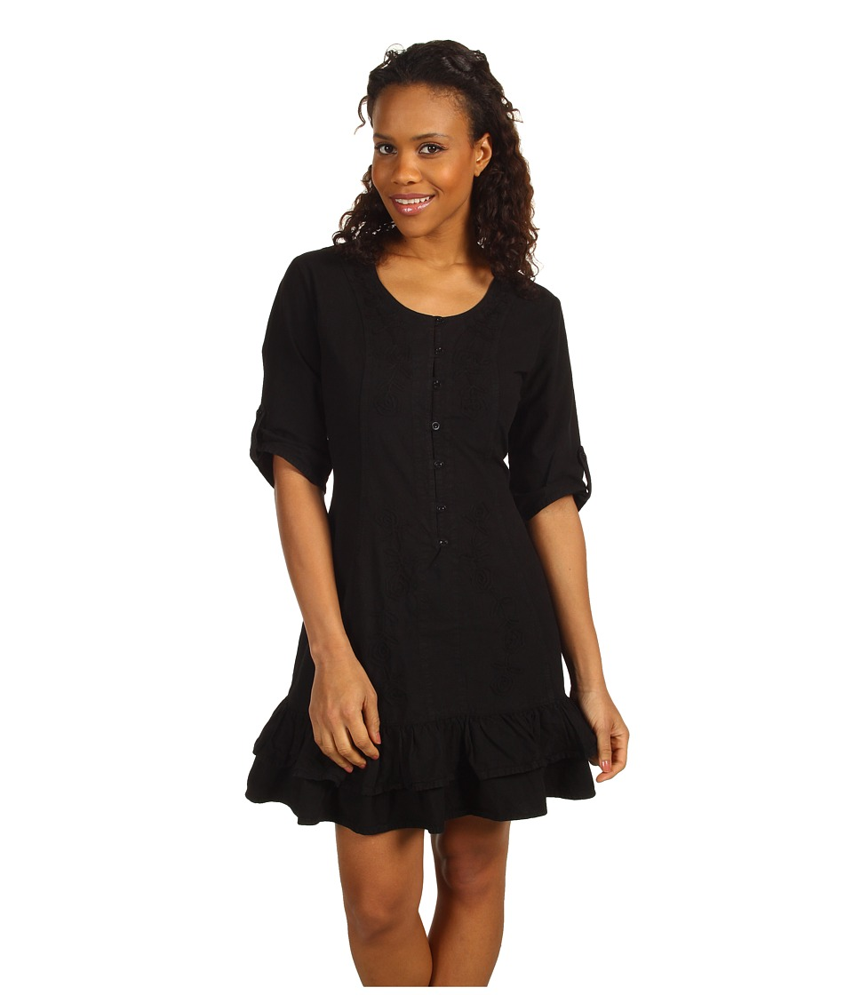 Scully - Cantina Tie Back Kristyn Dress (Black) Women's Dress